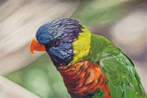 Parrot L by Richter Painter