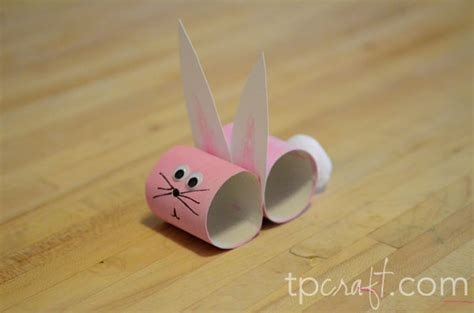 Bunny Toilet Paper Roll Craft - tpcraft bunny toilet paper roll