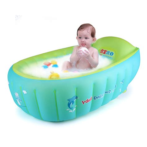 inflatable bathtub for kids new baby inflatable bathtub swimming float safety bath tub