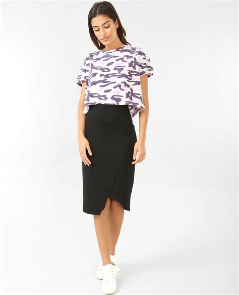 Cropped Camouflage cropped top camouflage violet 403869410i04 pimkie