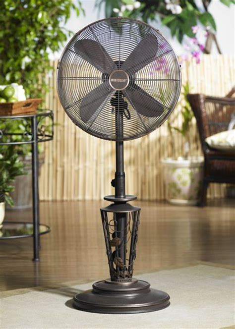dbf0623 vines outdoor patio fan floor standing outdoor
