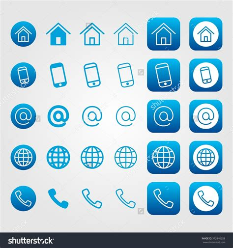 Phone To Address Address Phone Email Icons Free Icons