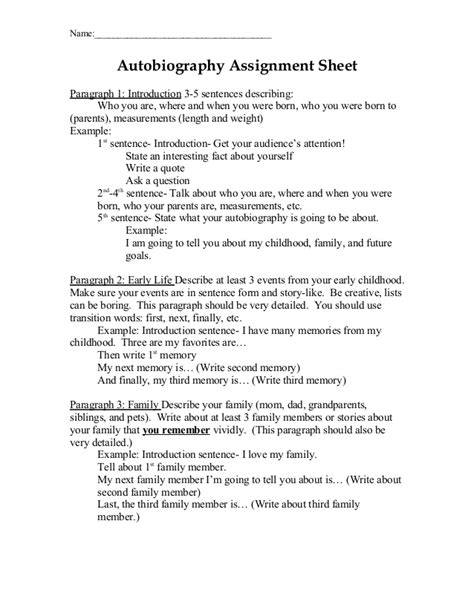 biography paragraph format thesis and dissertation writing lincoln university
