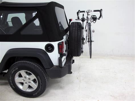 Wrangler Ski Rack by 2015 Jeep Wrangler Spare Tire Bike Racks Thule
