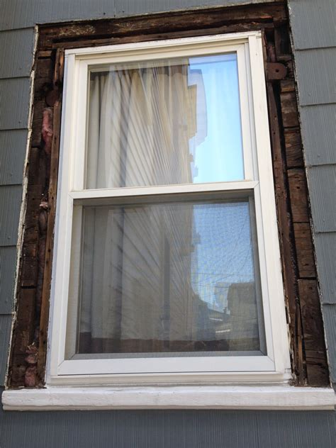 Exterior Door Casing Replacement How To Replace Exterior Window Trim House To Do