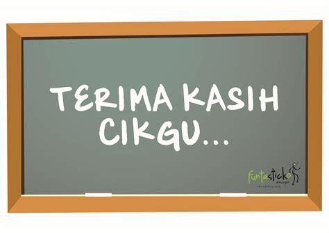 selamat hari guru cikgu