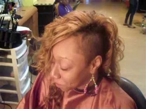 how to make mohawkweave sew in on net mohawk quick weave part 1 how to make do everything