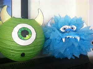 diy monsters inc decorations baby