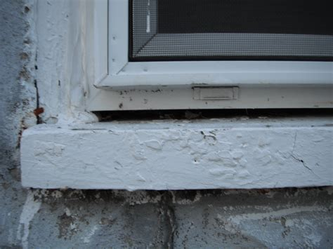 What S A Window Sill Note Gap Above Sill But Window What S Up With That