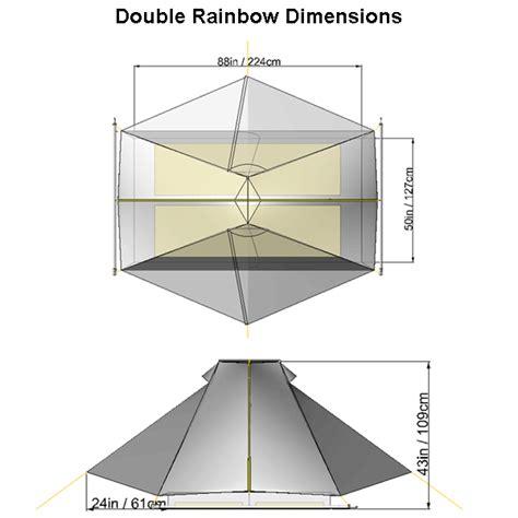 Bathtub Dimensions Tarptent Double Rainbow
