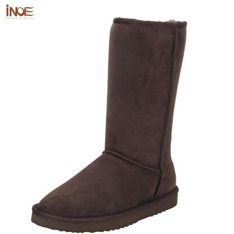 shoe boots for aliexpress buy inoe suede high snow boots for