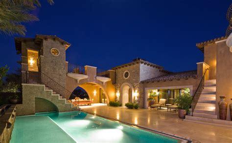 Tuscan Architecture   Mediterranean   Exterior   orange