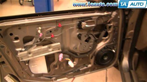 2008 quest window door sliding how to install replace power window motor or regulator