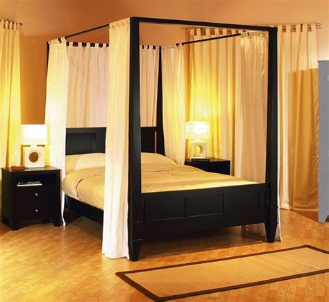 canopy bed curtains with lights beautiful canopy bed design ideas with curtains that will