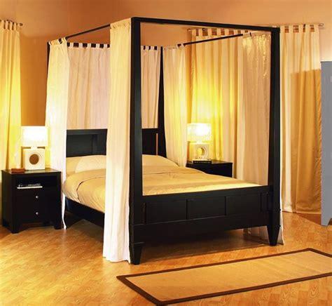 Bedroom Exiterra Canopy Bed With Wooden Floor Exiterra Canopy Bed Black Canopy Bed Canopy Bed » Home Design 2017