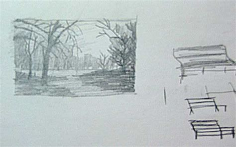 park bench drawing how to draw park benches