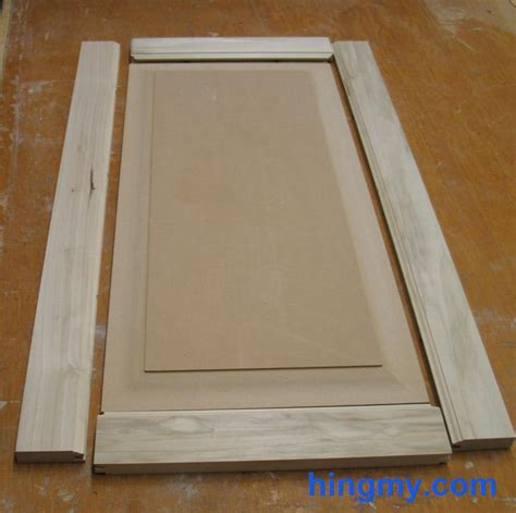 How To Make A Cabinet Door by How To Build Plain Cabinet Doors