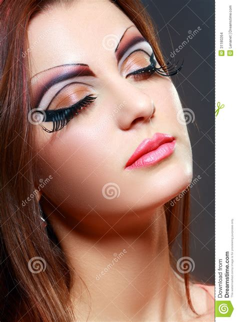 How To Be A Pseudo Supermodel by With Make Up Stock Images Image 31180264
