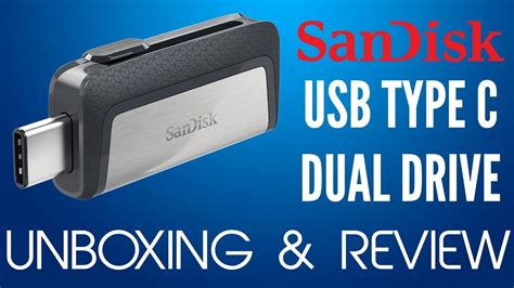 Sandisk Ultra Dual Usb Drive Type C Sdddc2 32gb Hitam sandisk ultra dual drive usb type c sdddc2 unboxing and review