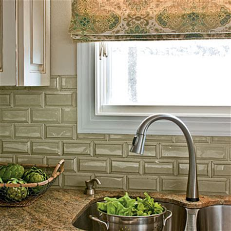 green tile backsplash gorgeous green 6 backsplashes to envy
