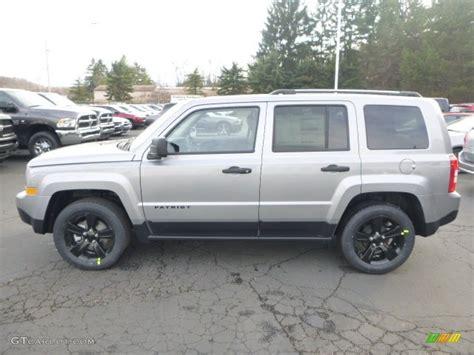 silver jeep patriot interior 2015 billet silver metallic jeep patriot altitude