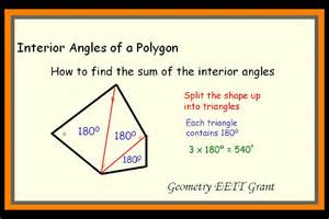 Measure Of An Interior Angle Of A Regular Hexagon Interior Of A Polygon Angles Pictures To Pin On Pinterest