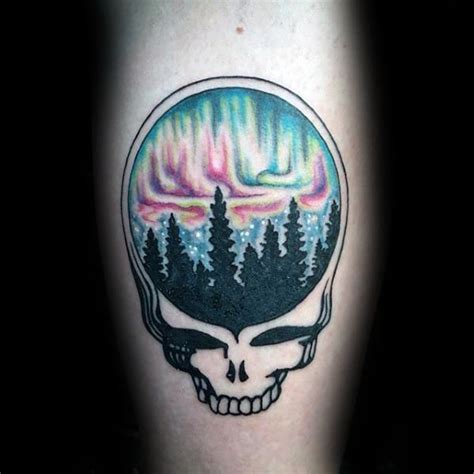 steal your face tattoo designs 50 grateful dead designs for rock band ink ideas