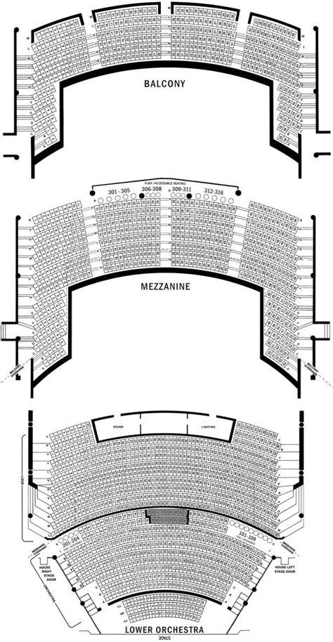 auditorium seating section sangamon auditorium seating charts