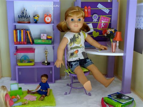 american girl doll house furniture setting up american girl doll house with furniture youtube