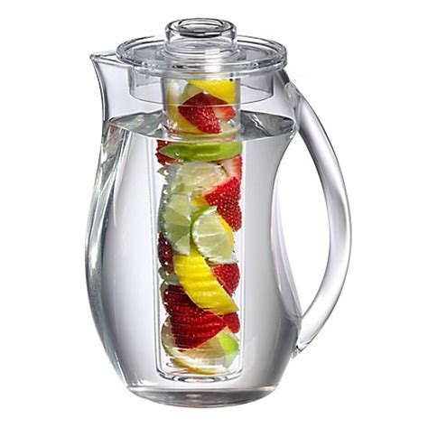 Detox Water Pitcher by Prodyne Fruit Infusion Pitcher Bed Bath Beyond