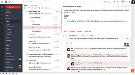 zoho mail zoho workplace business email file storage office