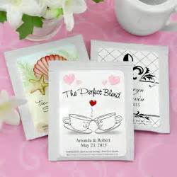 Wedding Tea Bag Favors by Personalized Wedding Tea Bag Favors