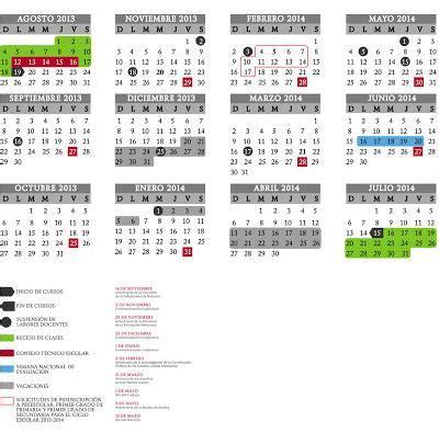 Calendario Comunitario San Diego 2015 M 233 Xico Calendario Escolar 2013 2014 Paperblog