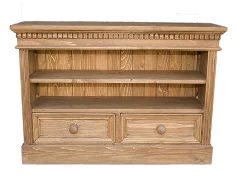 solid wood interiors gt pine bookcase small wide 1 shelf 2