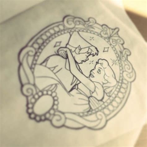 disney tattoo peter pan and wendy darling tattoo ideas