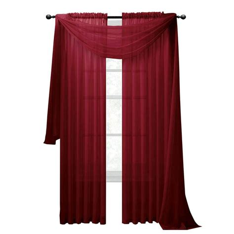 burgundy accent wall double window scarf ideas scarf 6 000 gold and burgundy shower curtain 28 images