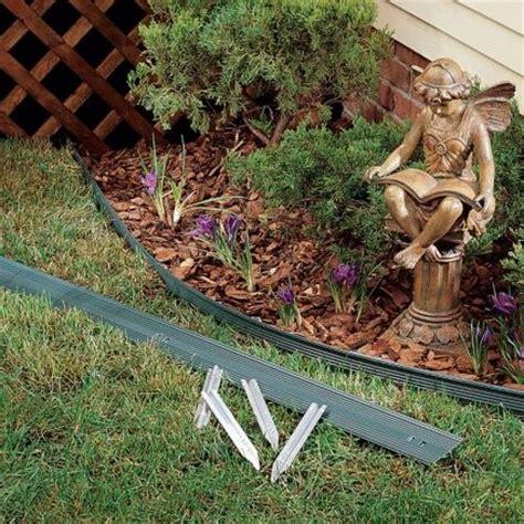 aluminum landscape edging outdoor curv rite 6 ft aluminum lawn edging kit 190935