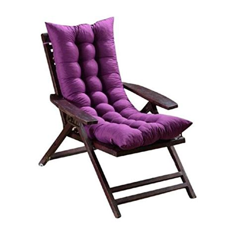 purple rocking chair cushions lounge chair cushion ikevan memory cotton soft sofa