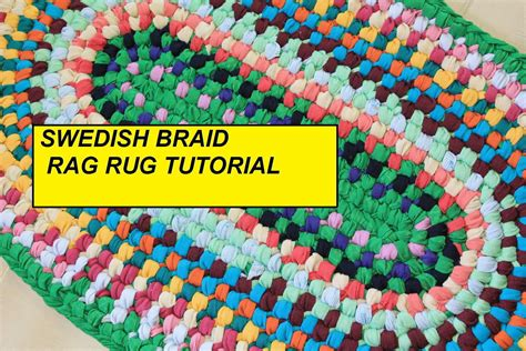 how to make a rug out of t shirts pdf tutorial swedish braid rag rug aka toothbrush rug