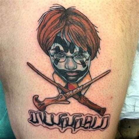 juggalo tattoo harry potter juggalo neatorama