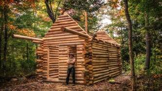 Cabin Floor by Log Cabin Build You Can Do This Too Youtube