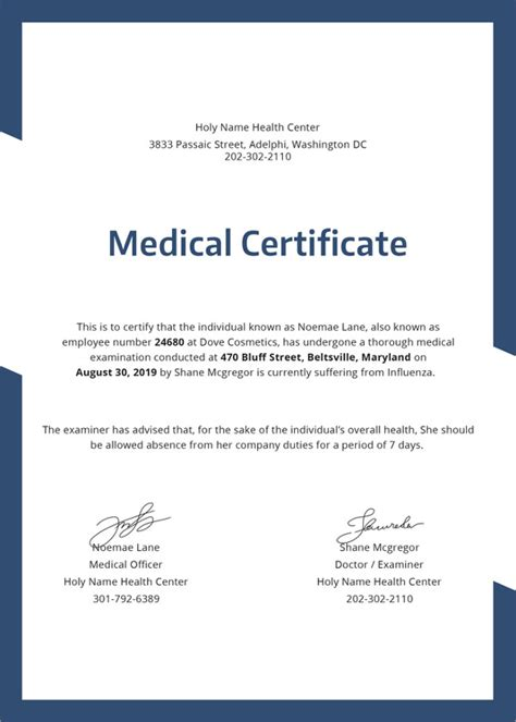 Proof Of Hospitalization Letter certificate template 31 free word pdf documents free premium templates
