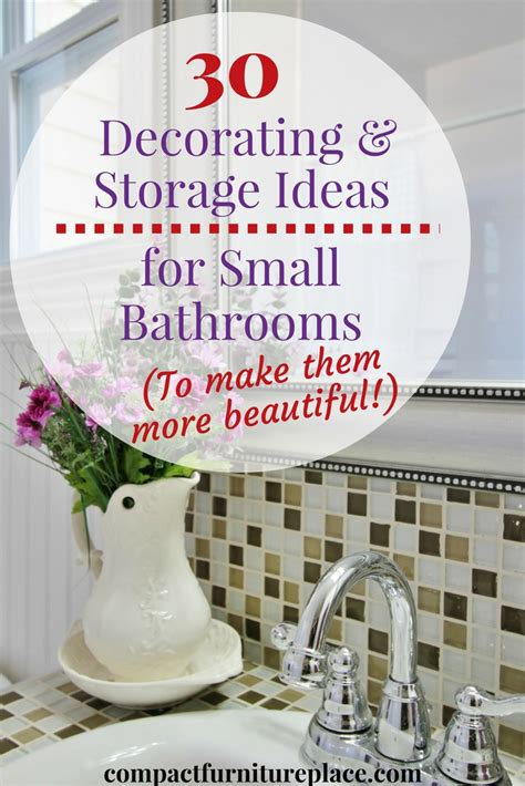 stellar ideas for bathrooms to help you make the most of 30 ways to both beautify and gain storage for small bathrooms