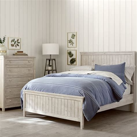 pbteen beds beadboard basic bed trundle pbteen
