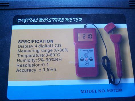 Jual Alat Multimeter jual alat ukur kadar air kertas paper moisture meter