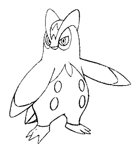 Morning Kids Net Coloring Pages Pokemon | coloring pages pokemon prinplup drawings pokemon