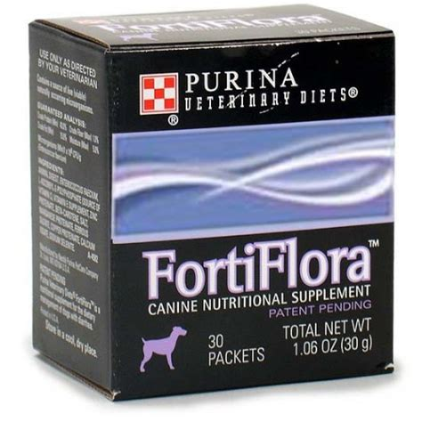 fortiflora for dogs purina fortiflora 174 canine nutritional supplement