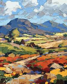 landscape artists best 25 acrylic landscape painting ideas on