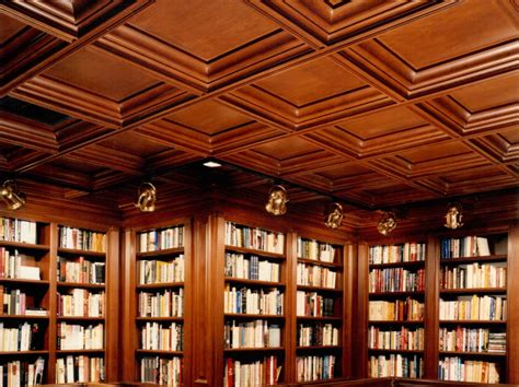 Wood Coffered Ceiling Library Wood Coffered Cherry Ceiling Woodgrid 174 Coffered