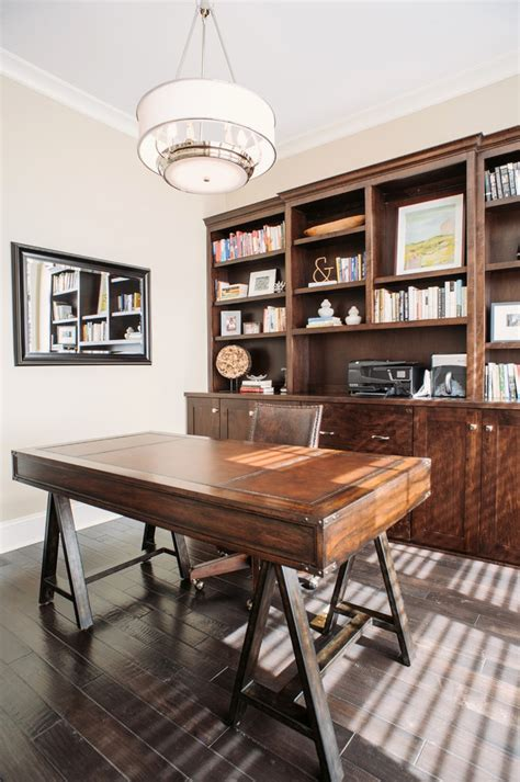 beautiful transitional home office designs interior god